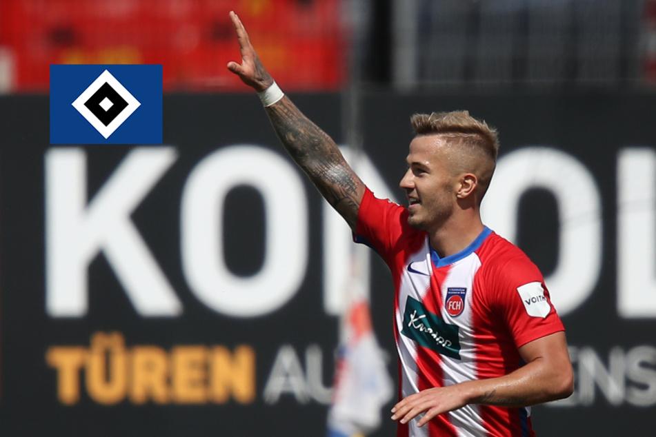 HSV plant Angriff auf U21-Nationalspieler Dorsch