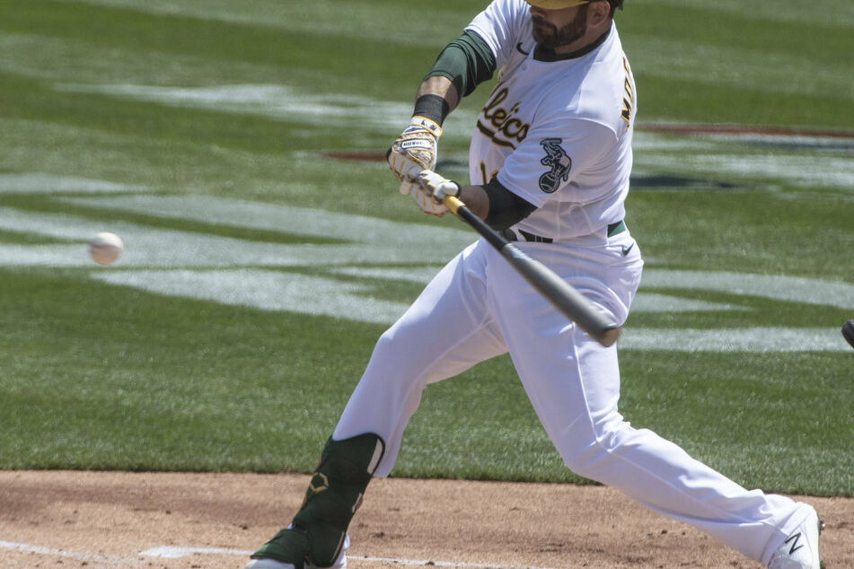 MLB: The A's get their first win of the season off defending champions Dodgers