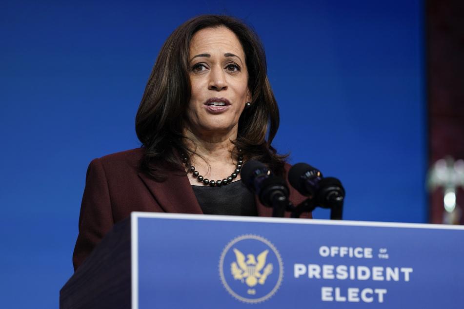 Kamala Harris, gewählte Vizepräsidentin (Vice-President-elect) der USA.