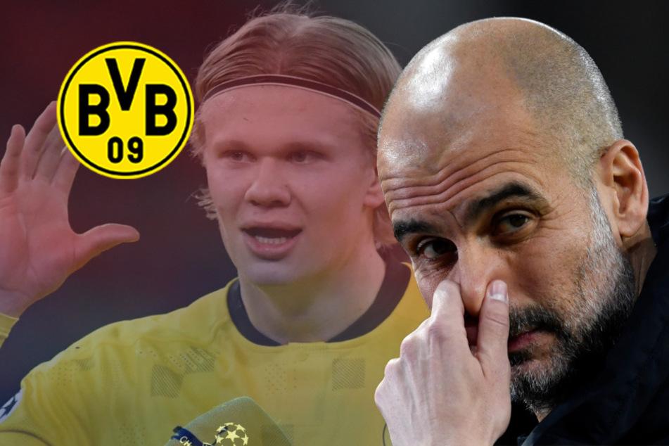 """BVB """"gibt eine Menge für Berater aus"""": Guardiola lästert und spricht über Haaland-Kauf!"""