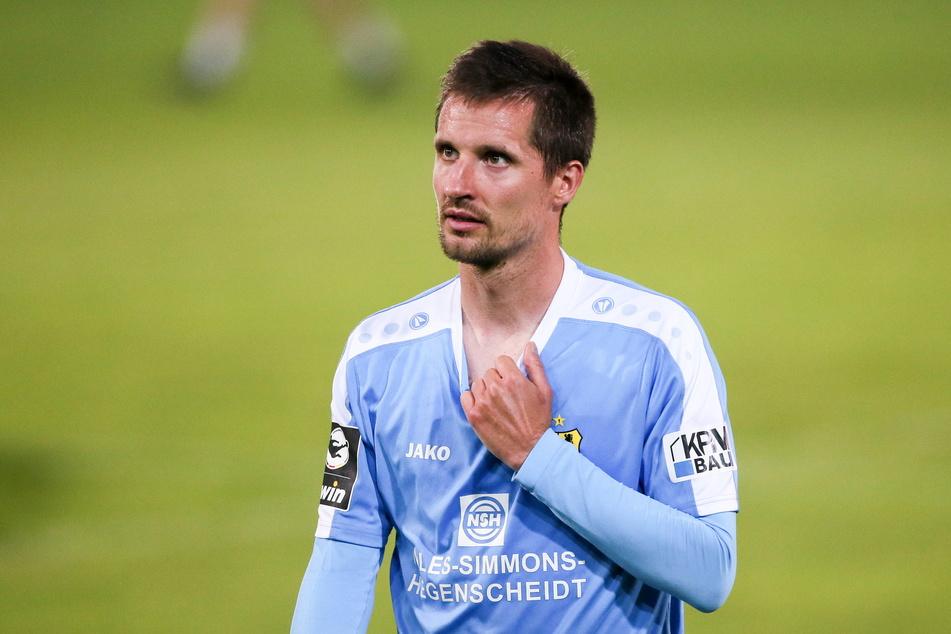 Routinier Sandro Sirigu wechselte im Sommer vom CFC nach Großaspach.