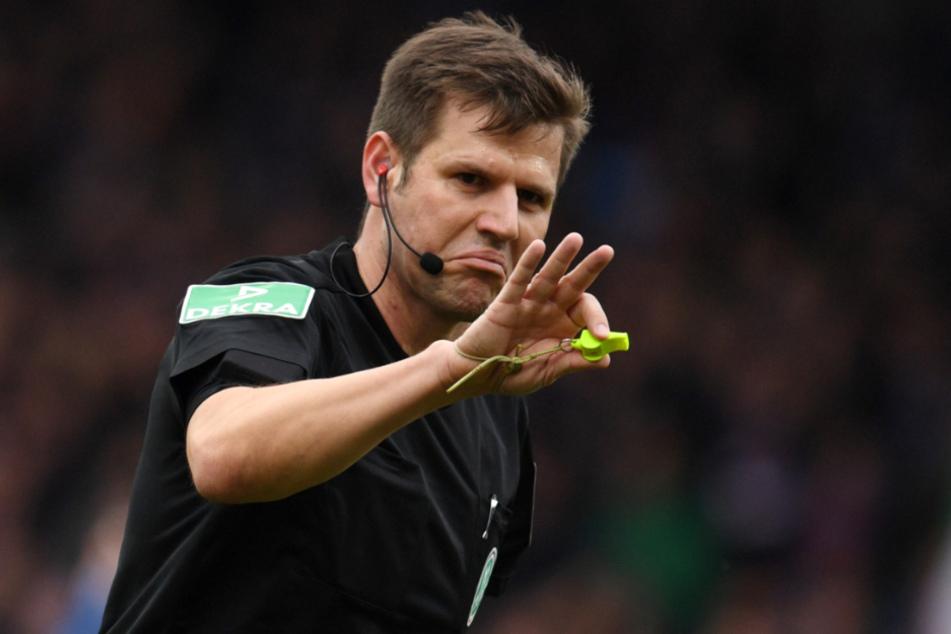 Schiedsrichter Frank Willenborg (41, Foto) sah bei dem Treffer von VfB-Stürmer Silas Wamangituka keinen Regelverstoß.