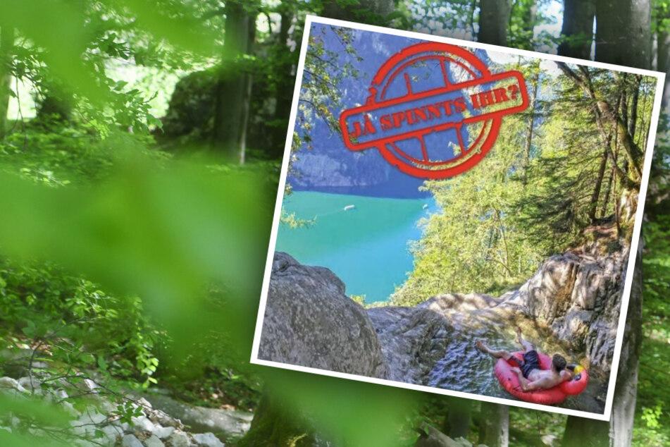 """""""Ja spinnts ihr?"""" Nationalpark Berchtesgaden wehrt sich gegen Foto-Tourismus"""