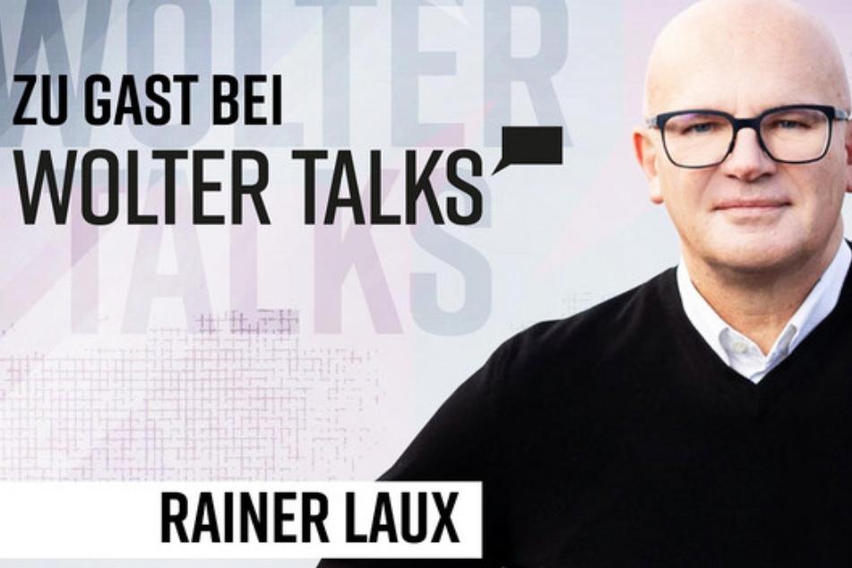 """Rainer Laux (59) im """"Wolter talks""""-Medienmacher-Podcast, den Marcus Wolter (53, CEO """"Banijay Germany"""") moderiert."""