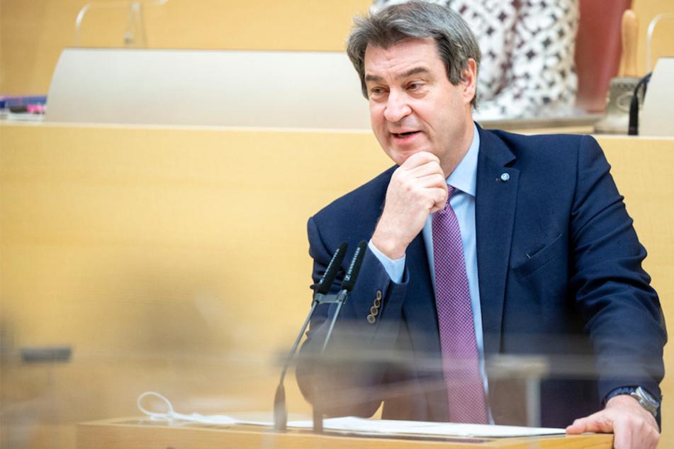 """""""Mit linken Grünen wollen wir nicht"""": Söder stellt Hürden zur Bundestagswahl auf"""
