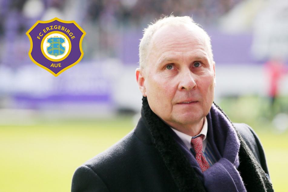 Aue-Boss Leonhardt: Wegen Coronakrise droht Vereinen Insolvenz