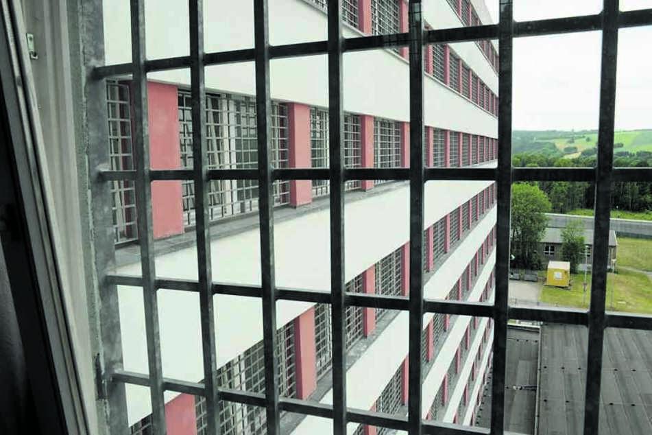 Das Frauengefängnis Chemnitz - hier war die Corona-Infizierte bis 13 Mai (Archivbild).