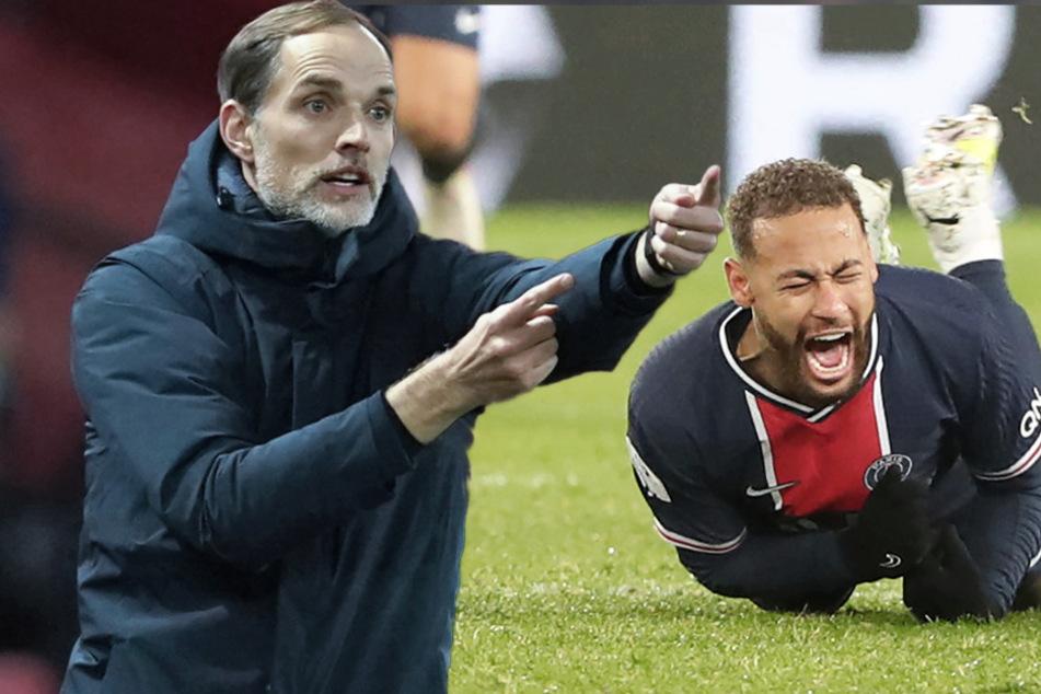 Lyon schockt PSG und Tuchel: Niederlage und schwere Neymar-Verletzung!