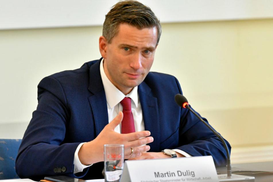 Wirtschaftsminister Martin Dulig (SPD).