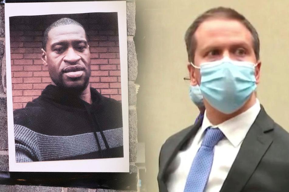 Tod von George Floyd: Ex-Polizist wegen Tötung schuldig gesprochen