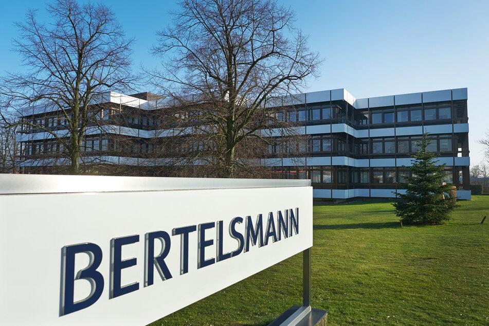 Das Verwaltungsgebäude von Bertelsmann in Gütersloh.