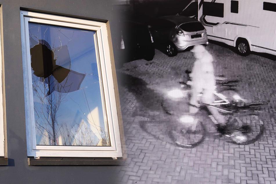 Dieb bricht in Autohaus ein und klaut zielgerichtet E-Bikes! Polizei sucht Zeugen