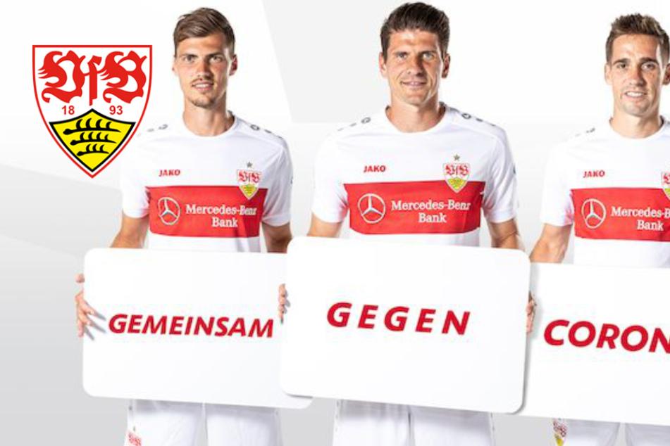 """""""Gemeinsam gegen Corona"""": VfB-Profis spenden an Helfer und Hilfsbedürftige"""