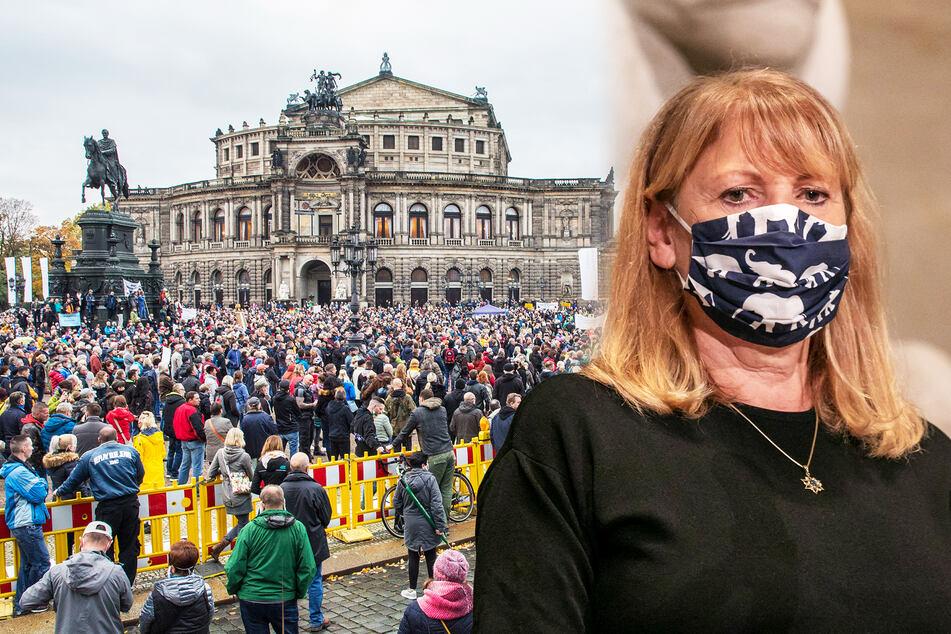 Sozialministerin Petra Köpping (62, SPD) will unter anderem Demonstrationen verkleinern.