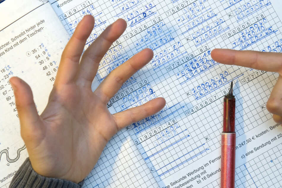 Mathe geht nicht jedem leicht von der Hand.