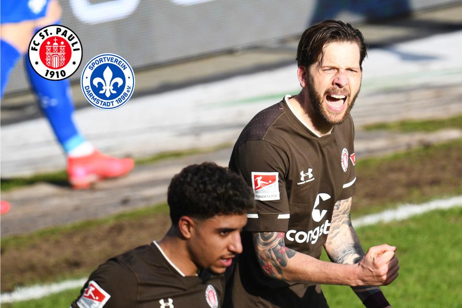 Wahnsinnsduell! FC St. Pauli gewinnt packende Partie gegen den SV Darmstadt 98