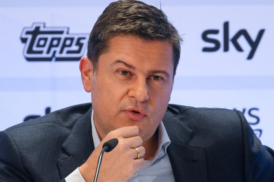 DFL-Boss Christian Seifert (51).