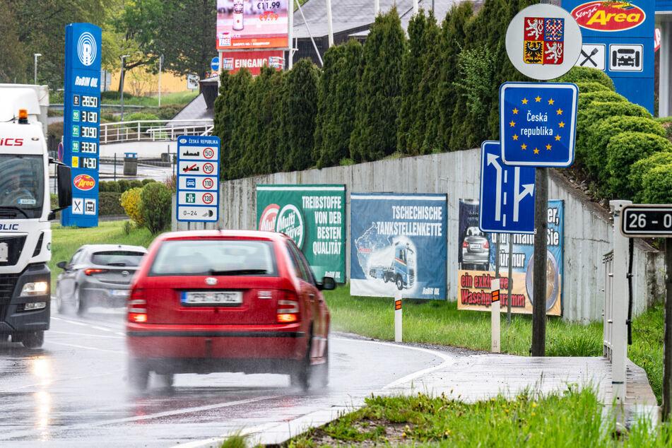 Der Einkaufstourismus mit Tschechien erholt sich noch immer von den Corona-Lockdowns.
