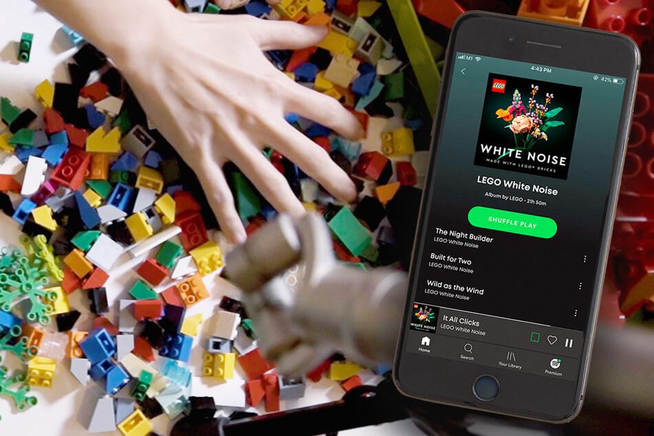 10.000 verschiedene Geräusche: Lego macht aus Bausteinen Musik zum Entspannen