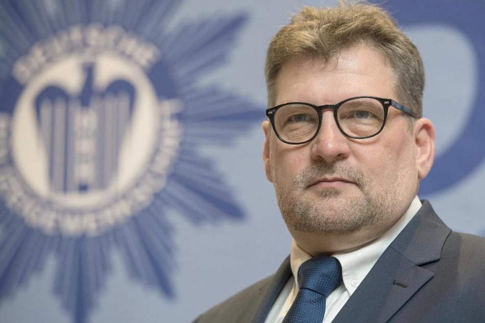 Ralf Kusterer (58) ist der Landeschef der Deutschen Polizeigewerkschaft in Baden-Württemberg.