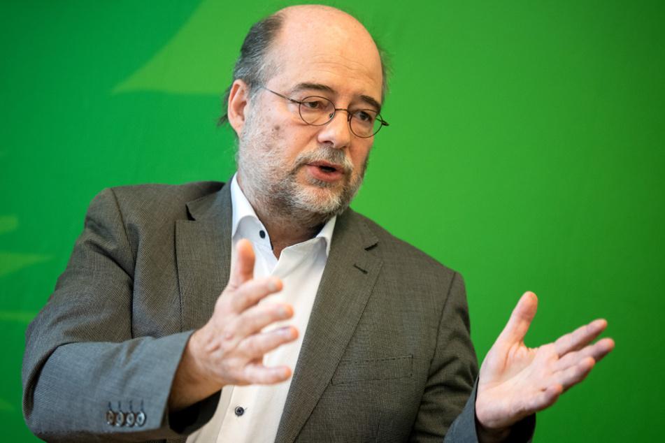 Bayerns Grünen-Landeschef Eike Hallitzky will seine Partei heiß auf den Wahlkampf machen. (Archivbild)