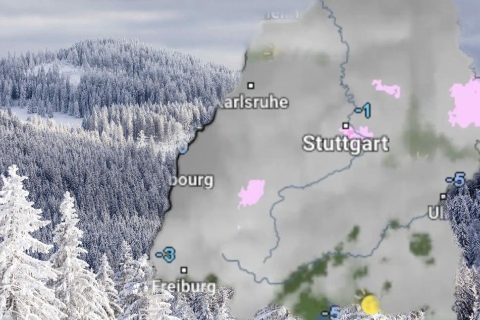Eiseskälte, Schnee und Sonne: So wird das Wetter im Ländle