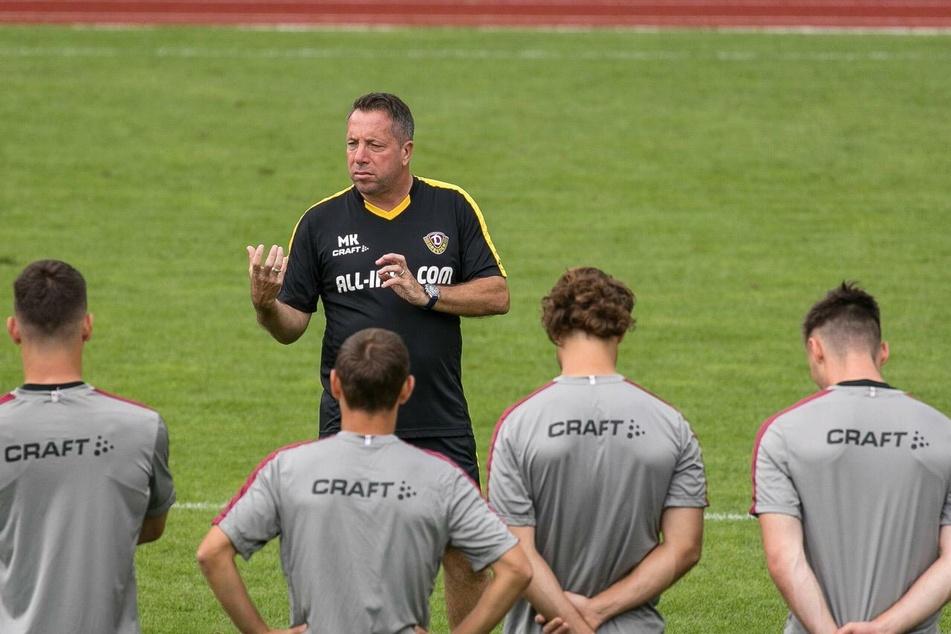Der Aufstieg ist angepeilt, es gibt bei Dynamo Dresden viel zu tun.