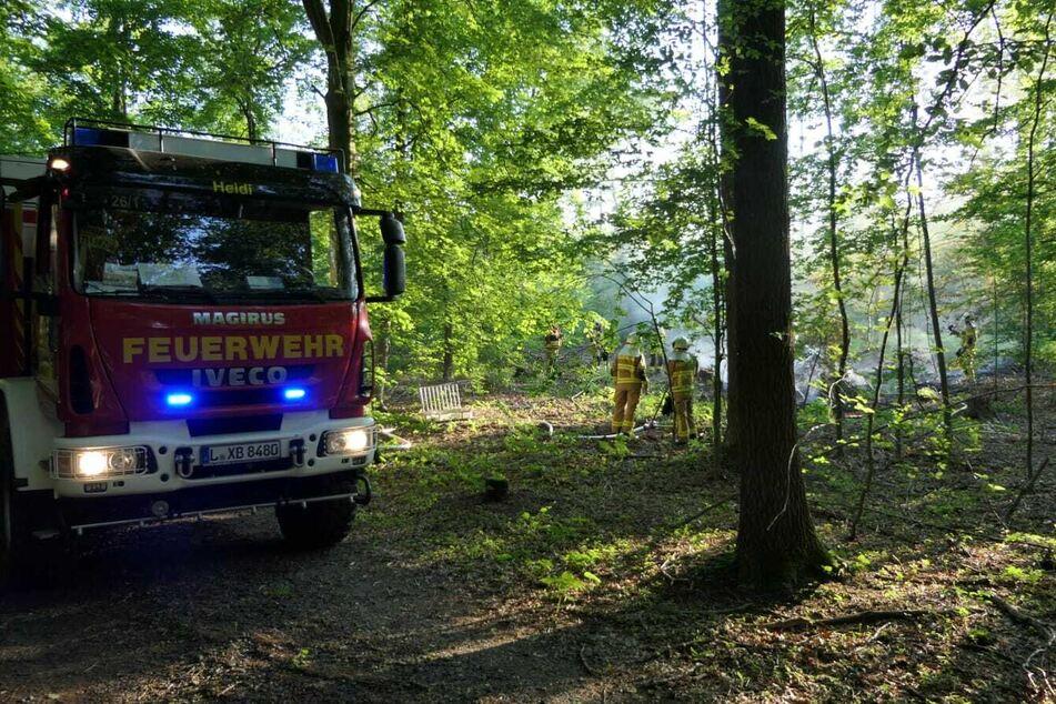 Glücklicherweise konnte die Feuerwehr die Lage auch diesmal schnell unter Kontrolle bringen.
