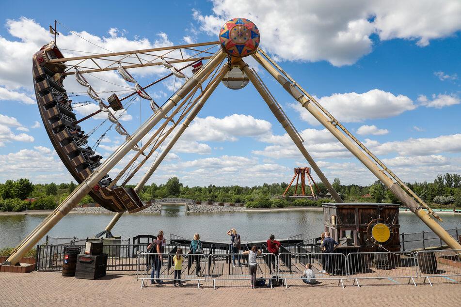 Der Freizeitpark Belantis wird ab 5. Juni wieder öffnen.