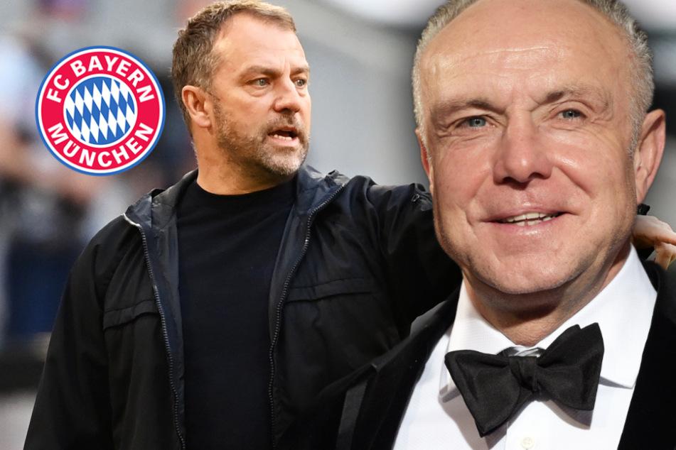 Bleibt Coach Flick beim FC Bayern? Rummenigge geht fest davon aus!