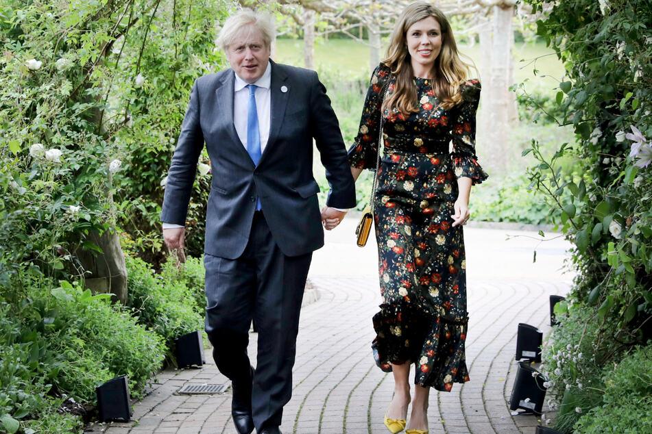 Boris Johnsons Ehefrau Carrie Johnson (33) ist erneut schwanger.