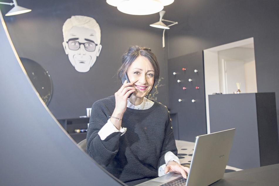 Erst sechs Wochen vor dem Lockdown hatte Salon-Inhaberin Dorina Tittel (44) ihr Studio an der Schweriner Straße eröffnet.