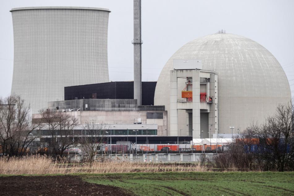 Das Foto aus dem Februar dieses Jahres zeigt das Atomkraftwerk (AKW) Biblis in Südhessen.