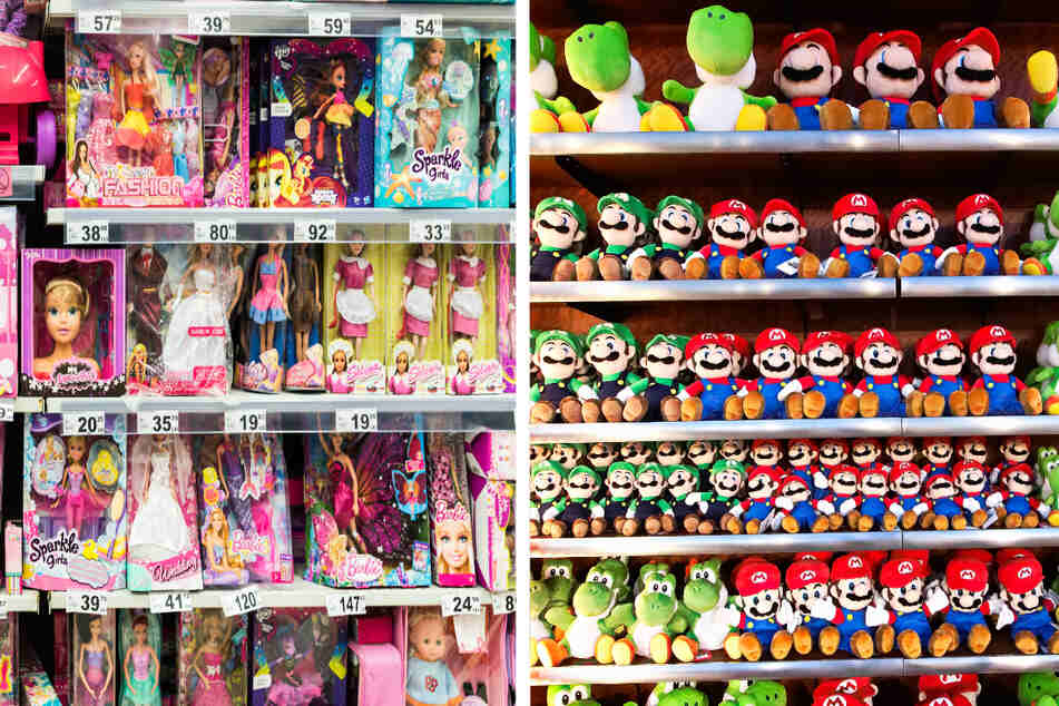 Out with the blue vs. pink! California requires retailers to have gender-neutral toy sections