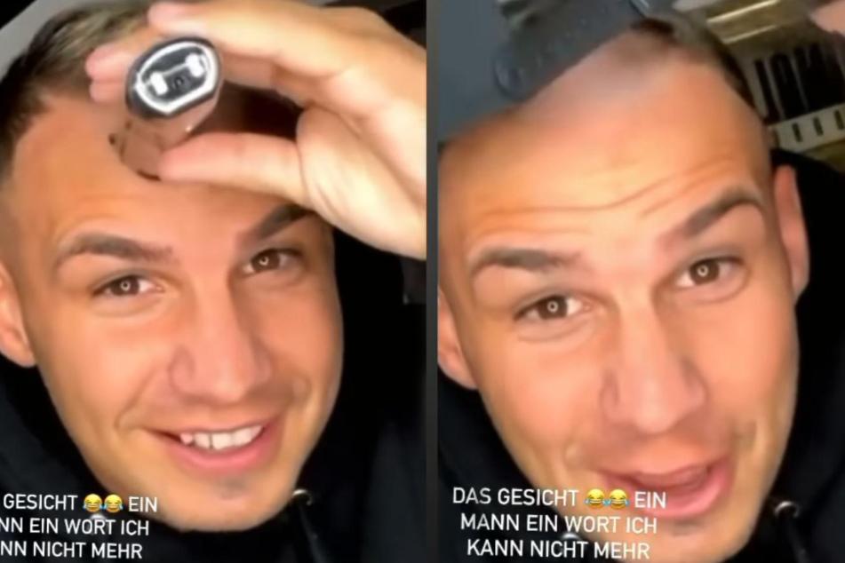 Pietro Lombardi rasiert sich eine Glatze!