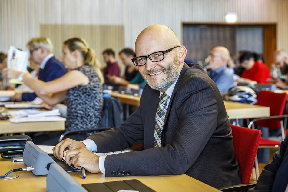 Will keinen Verwaltungspalast: Stadtrat Torsten Nitzsche (45, Freie Wähler).