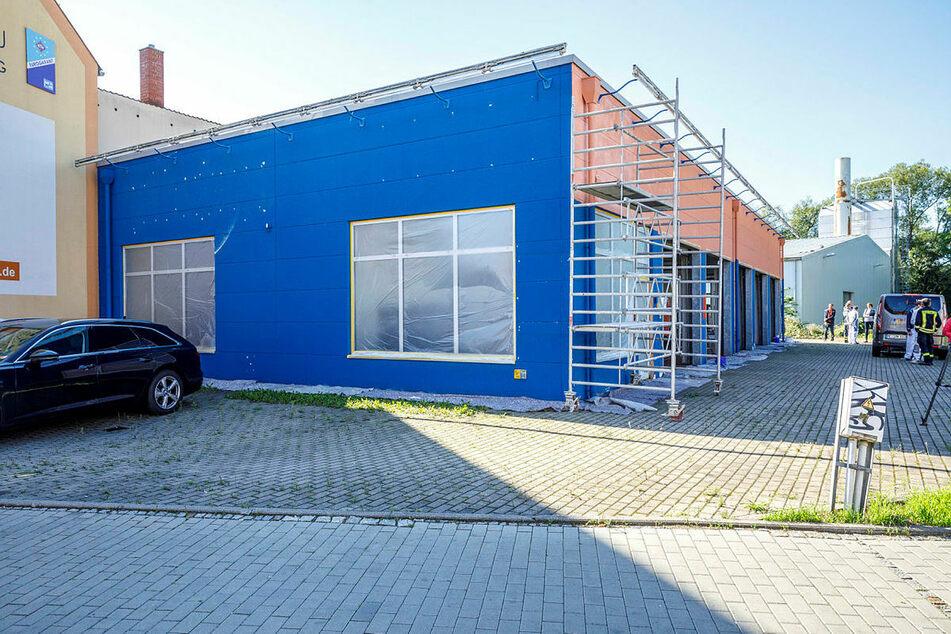Das Werkstatt-Gebäude in der Niederauer Straße.
