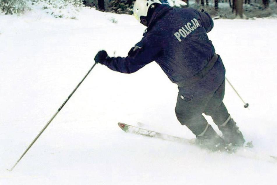Hier macht die Pistenpolizei Jagd auf Ski-Rowdies
