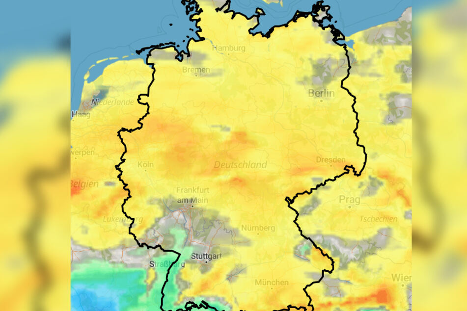 Am Wochenende wird es nochmal warm in Deutschland.