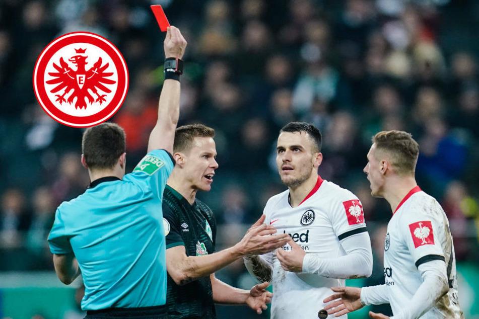 Finale adé: Eintracht-Profi Filip Kostic für vier Pokal-Spiele gesperrt
