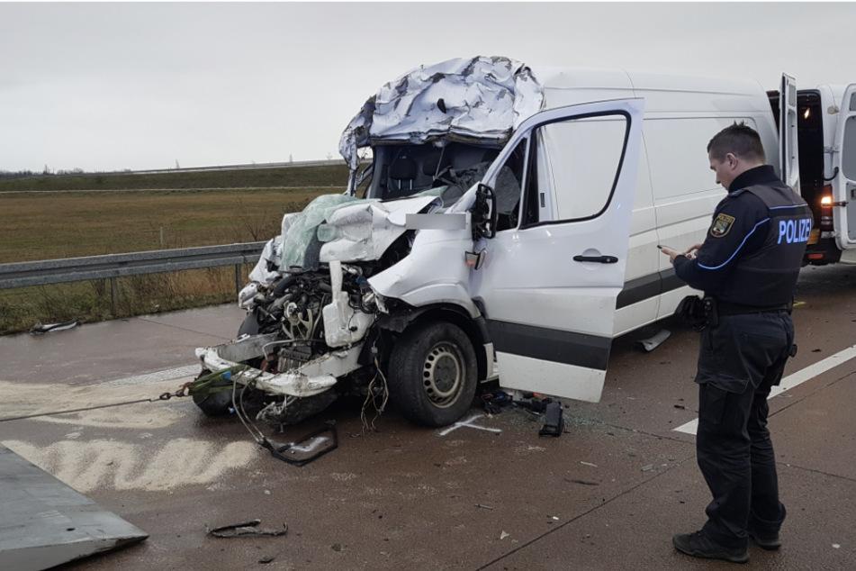 Der Fahrer kam ums Leben.