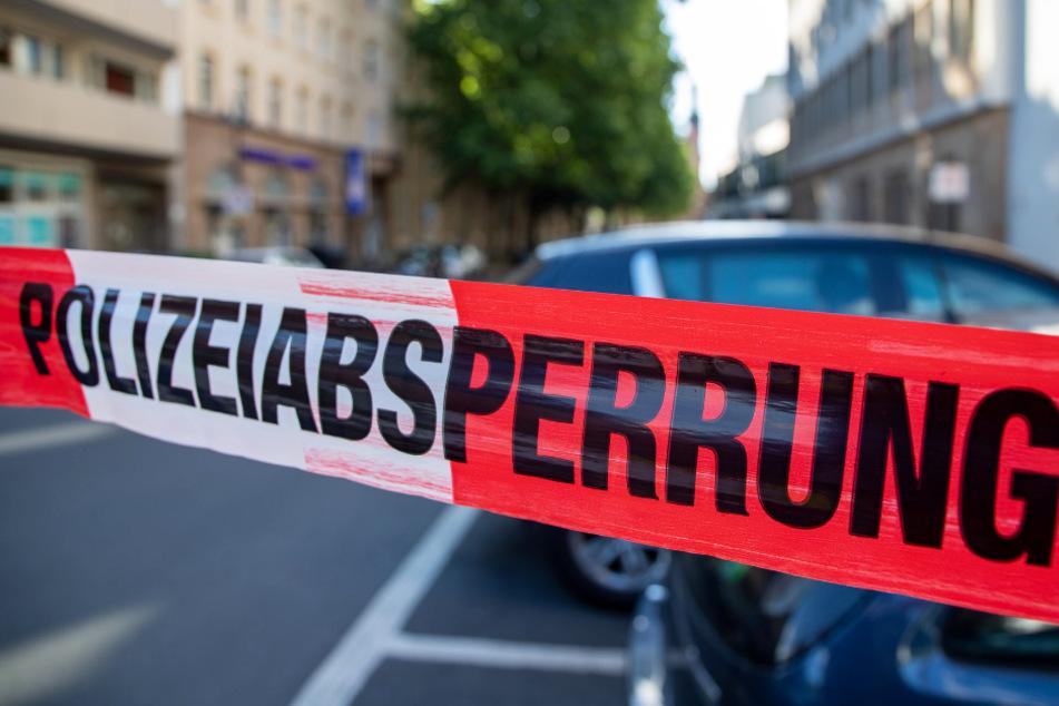 Teile der Mainzer Innenstadt wurden von der Polizei abgesperrt.