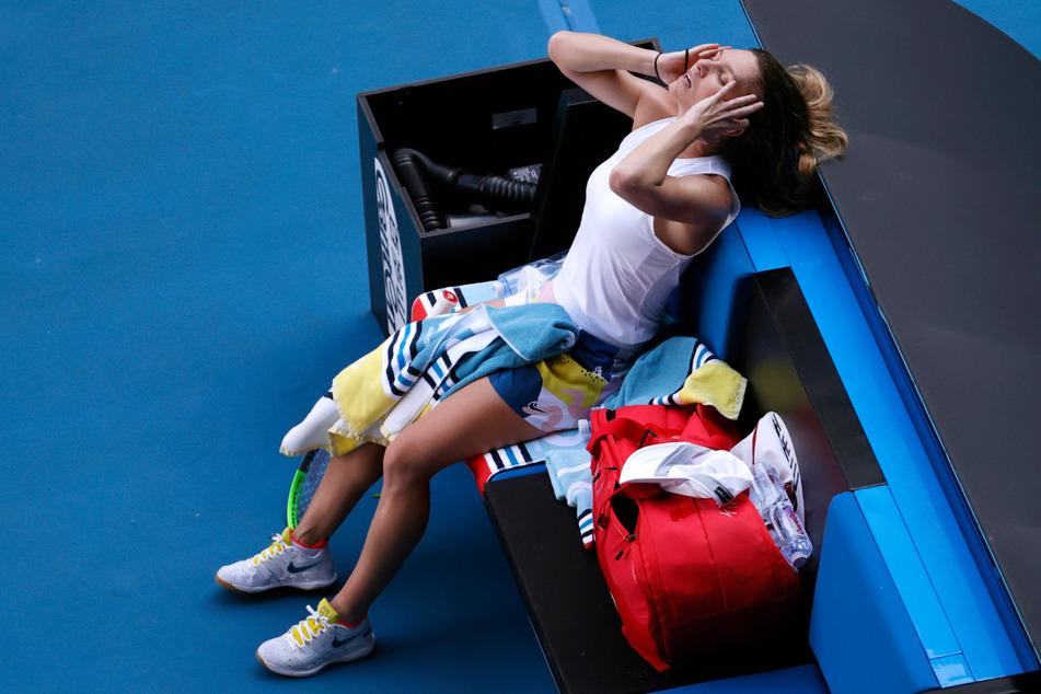 Simona Halep aus Rumänien wird nicht an den US Open 2020 teilnehmen.