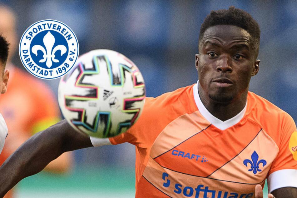 Braydon Manu geht auf Leihbasis von Darmstadt 98 zum Halleschen FC
