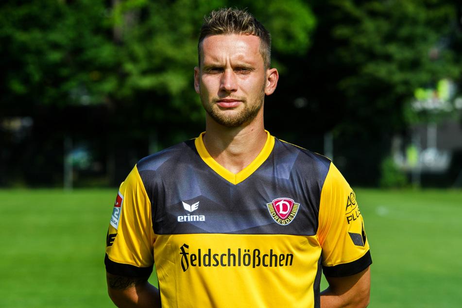 Manuel Konrad (32) spielte von 2016 bis 2018 bei Dynamo Dresden und kam auf 44 Einsätze (vier Tore) für die SGD.