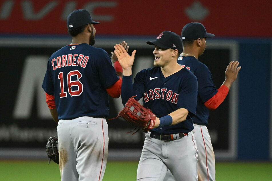 The Red Sox will take either the Astros or the White Sox in game one of the ALCS on Friday night.
