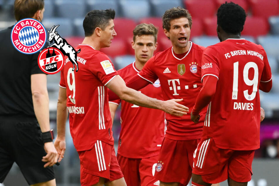 FC Bayern kann es auch in der Liga noch! Münchner feiern Heimsieg gegen 1. FC Köln