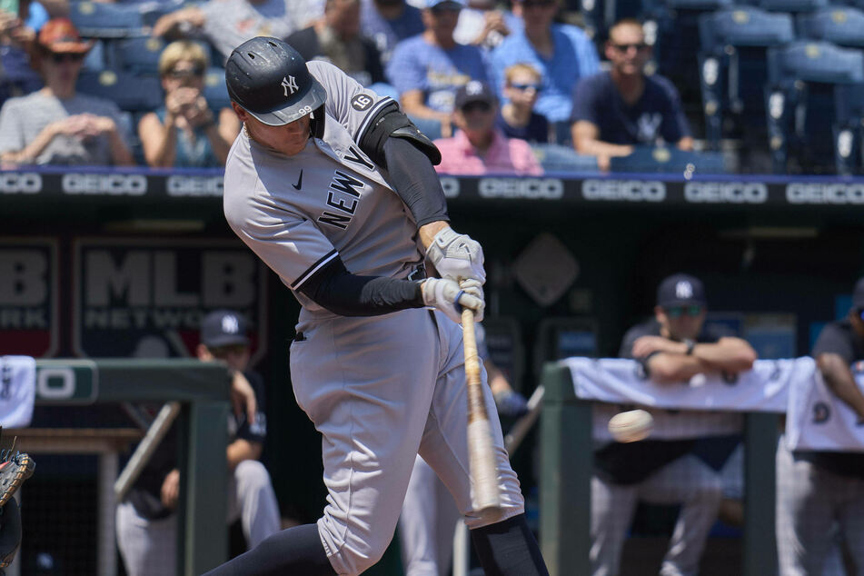 Yankees outfielder Aaron Judge belted a three-run home run to help New York's comeback win over Minnesota on Monday.