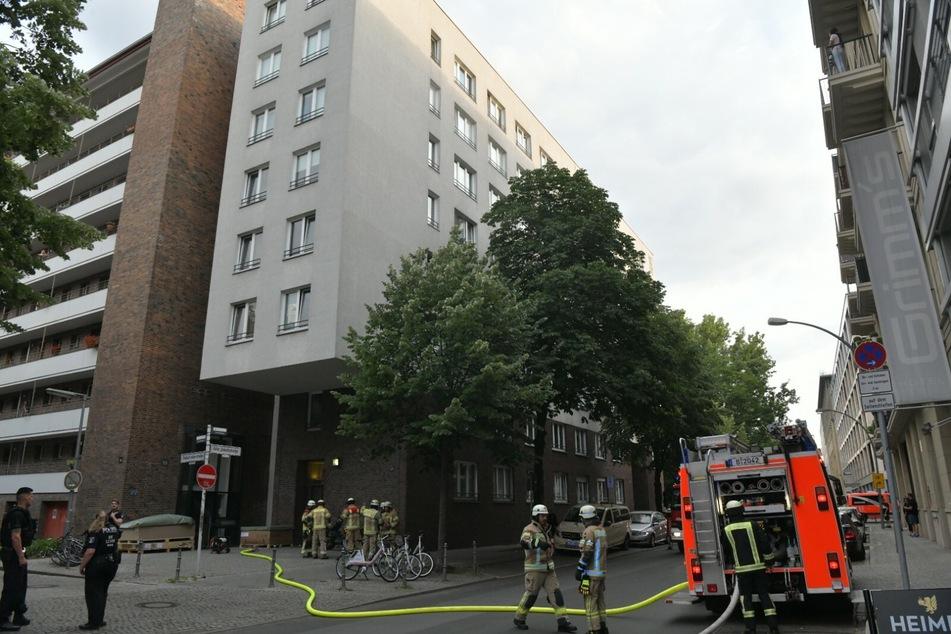 In Berlin-Kreuzberg hat es am Mittwochabend gebrannt.