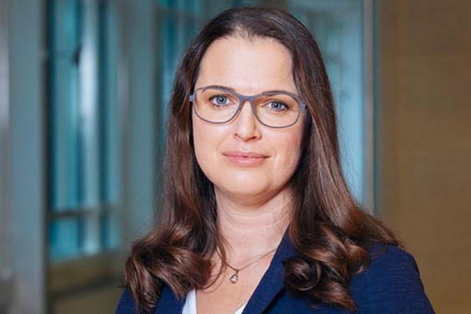 SachsenEnergie-Sprecherin Viola Martin-Mönnich (37).